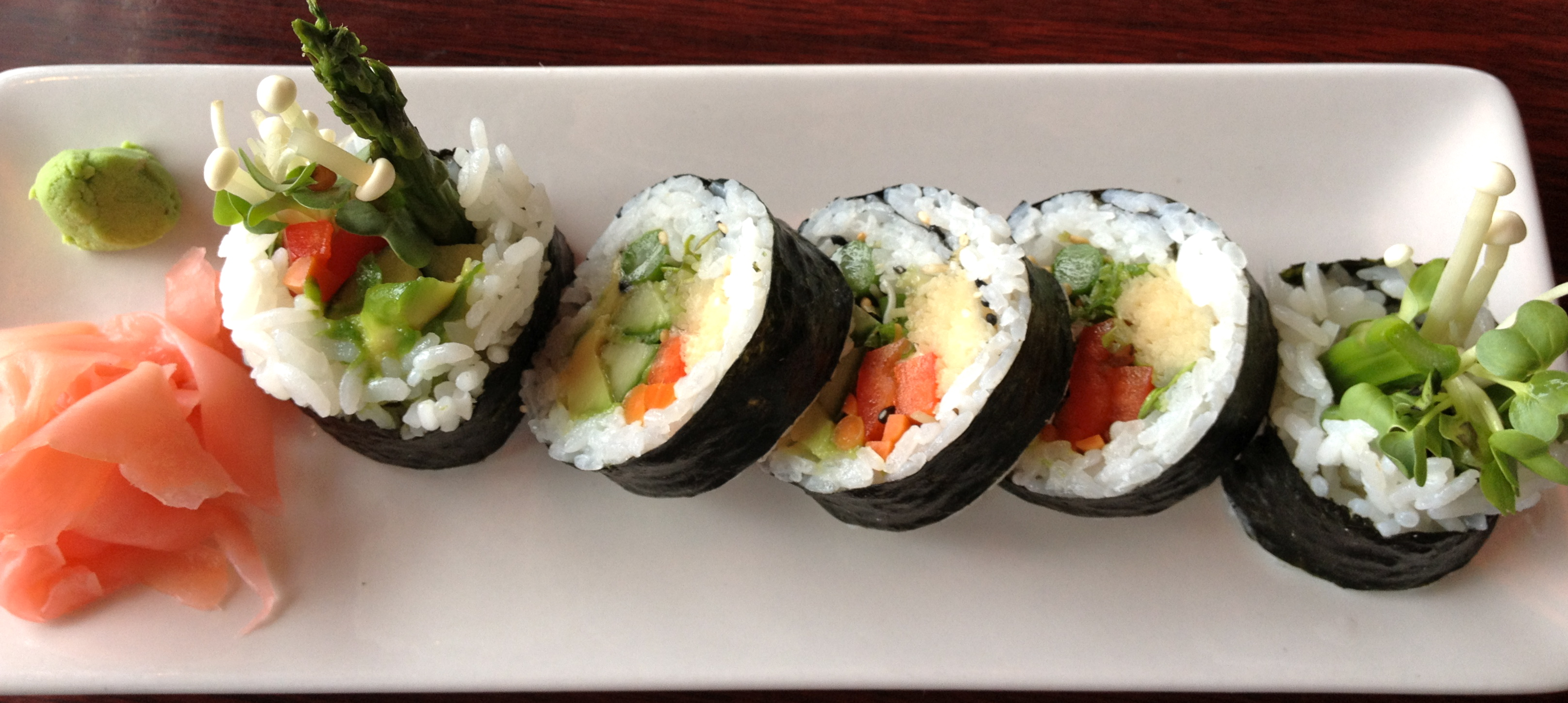 Vegan Sushi Archives The Fussy Fork